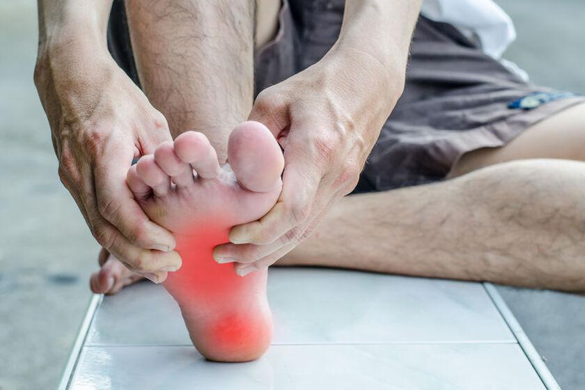 Kontuzja stopy u osoby aktywnej fizycznie