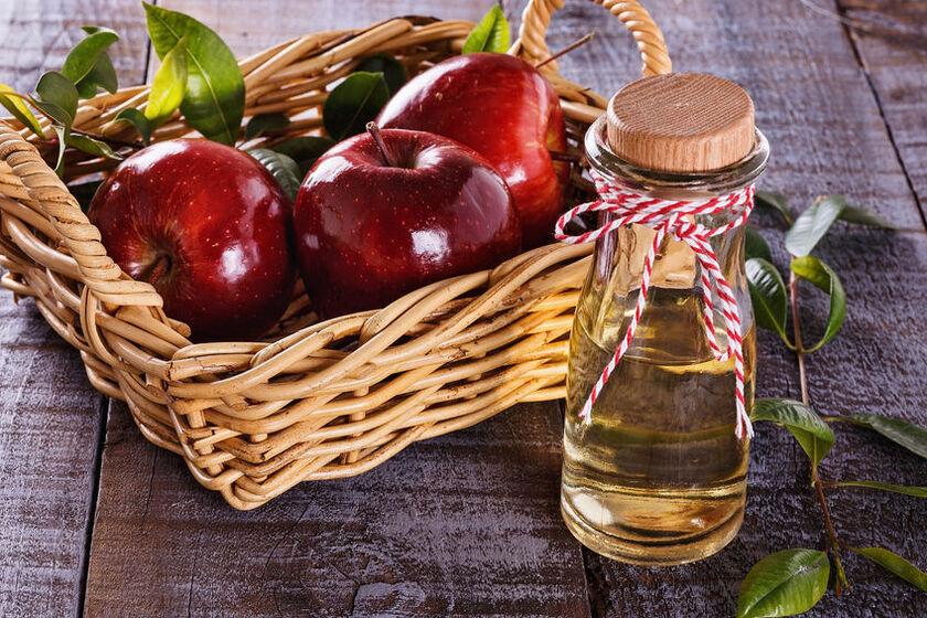 Ocet jabłkowy w butelce