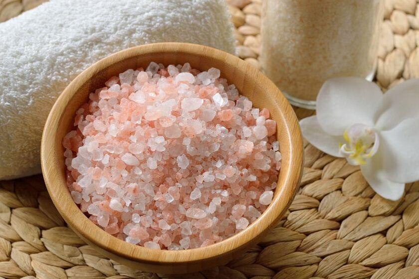 Różowa sól himalajska