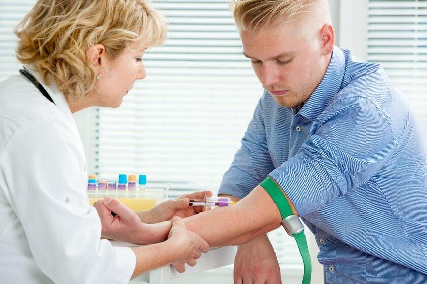 Proba krwi do badania poziomu ALAT