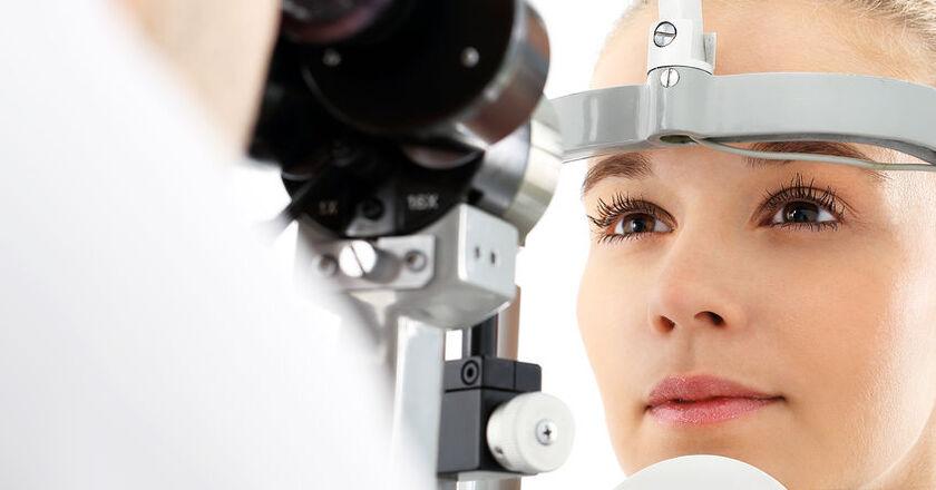 Optyczna koherentna tomografia dna oka