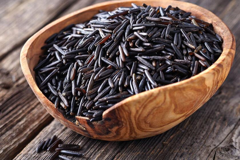 Ziarna dzikiego ryżu