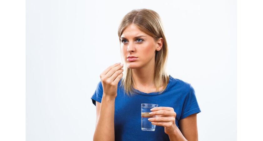 Blister z tabletkami antykoncepcyjnymi
