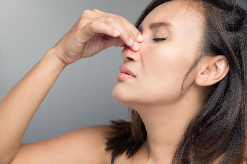 Polipy w nosie