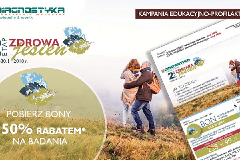 Kampania profilaktyczna Zdrowa Jesień