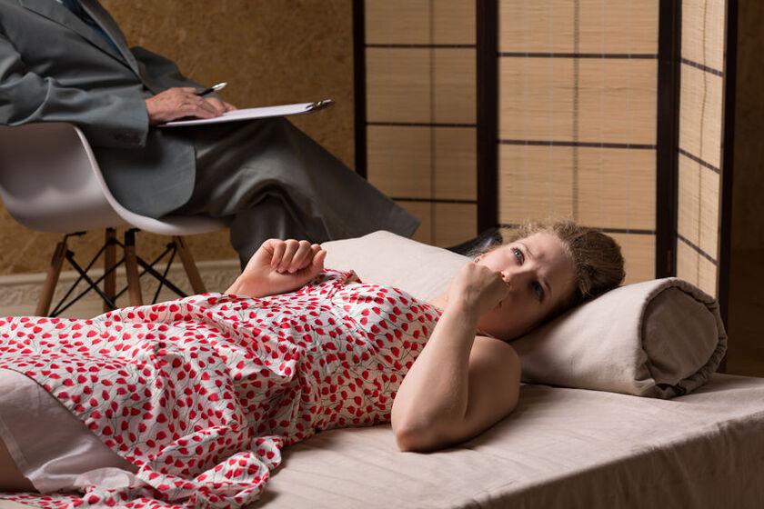 Nimfomanka u psychoterapeuty