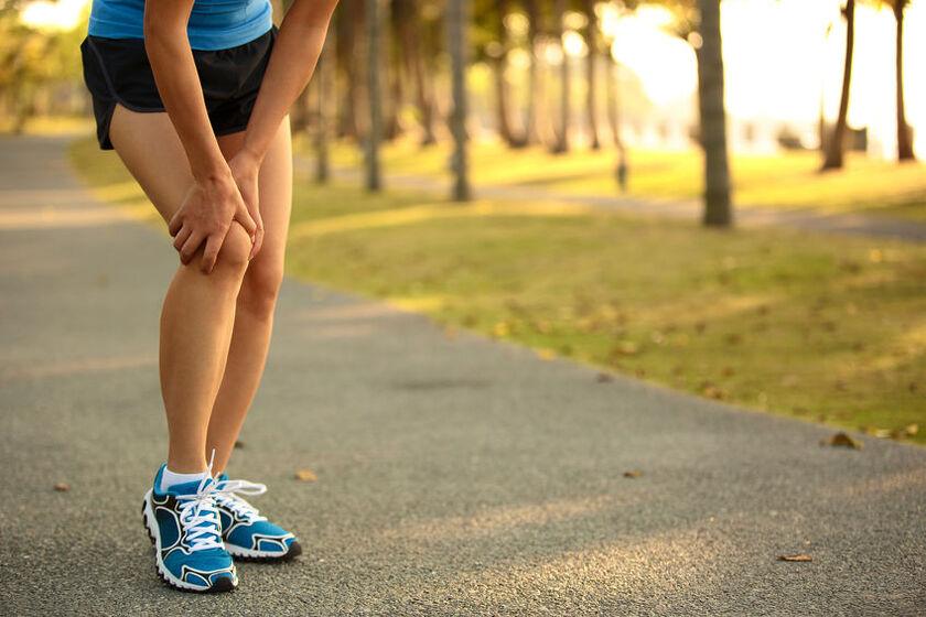 Bolące kolano po bieganiu