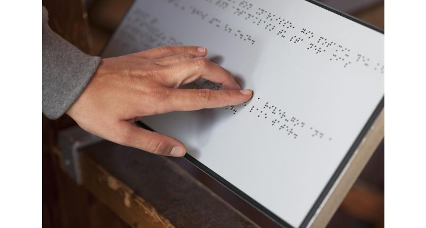 pismo dla osób niewidomych