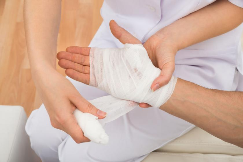 Opatrywanie rany