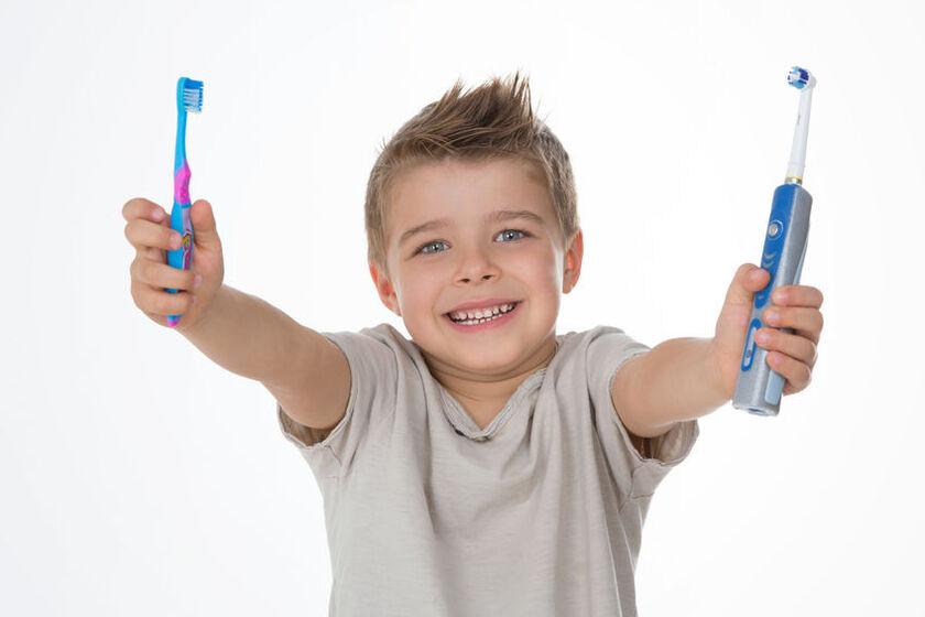Elektryczna szczoteczka do zębów dla dziecka