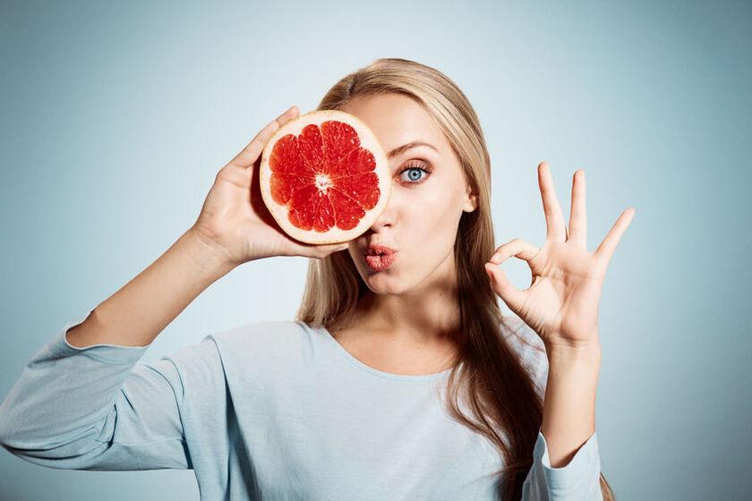 Owoc grejpfruta